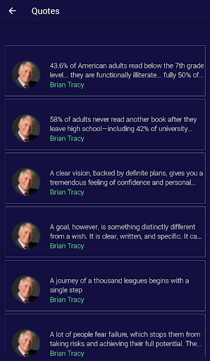 Brian Tracy Quotes 1.6 screenshots 2
