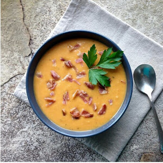 Roasted Sweet Potato Soup.