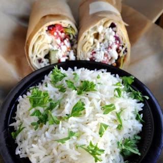 Taziki's Mediterranean Cafe's Basmati Rice.