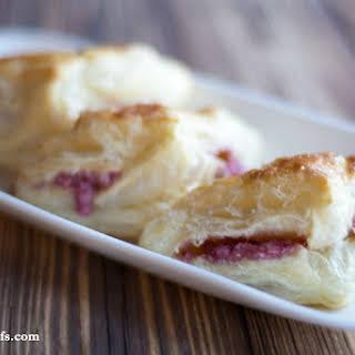Raspberry Cream Cheese Turnovers.