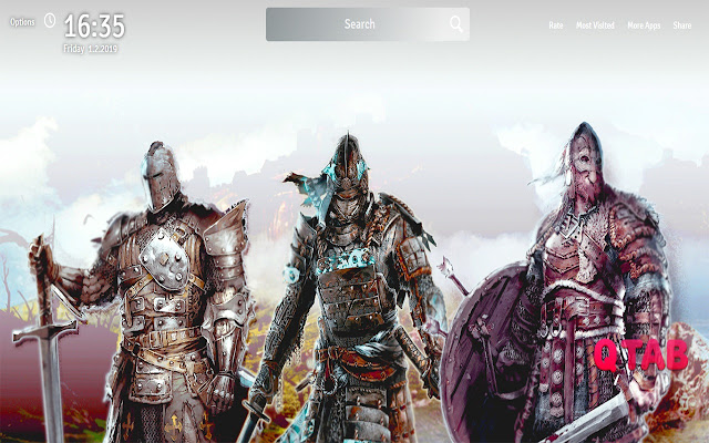 For Honor Wallpapers New Tab