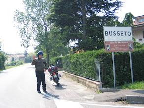 Photo: Dieses Bild ist für Papi: Ich war auch in Busseto, hier der Beweis!