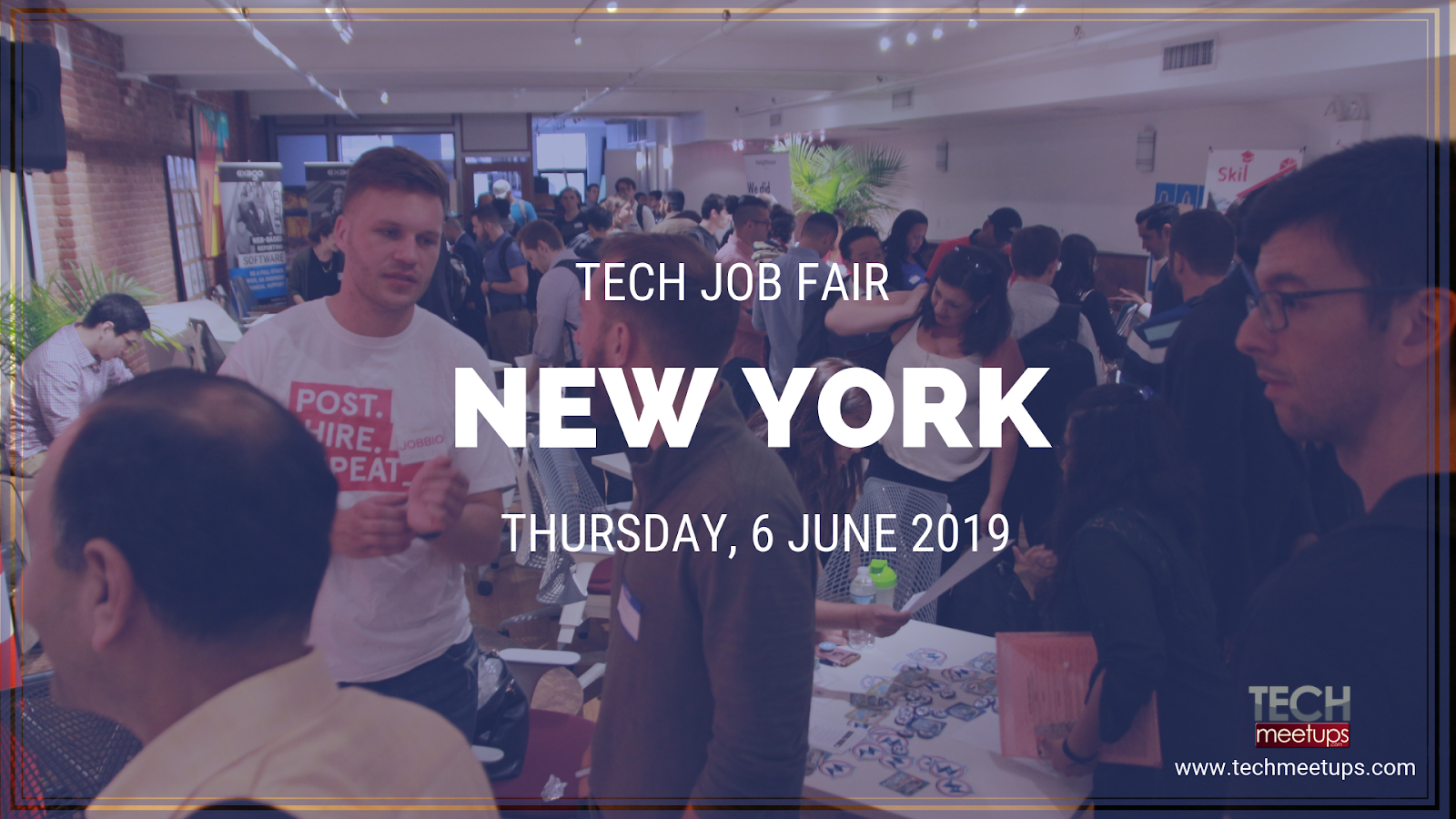 join new york tech job fair