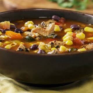 Johnsonville Flame Grilled Southwestern Chicken Soup.