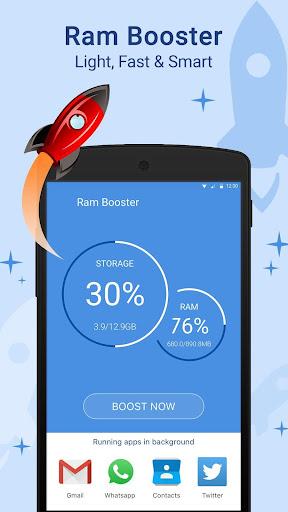 Junk Cleaner(RAM Booster) 1.0 screenshots 1