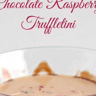 Chocolate Raspberry Truffletini.