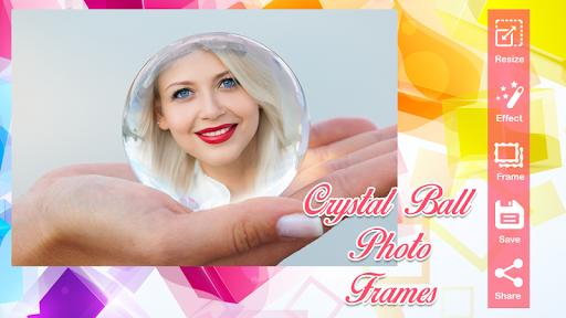Crystal Ball Photo Frames FX