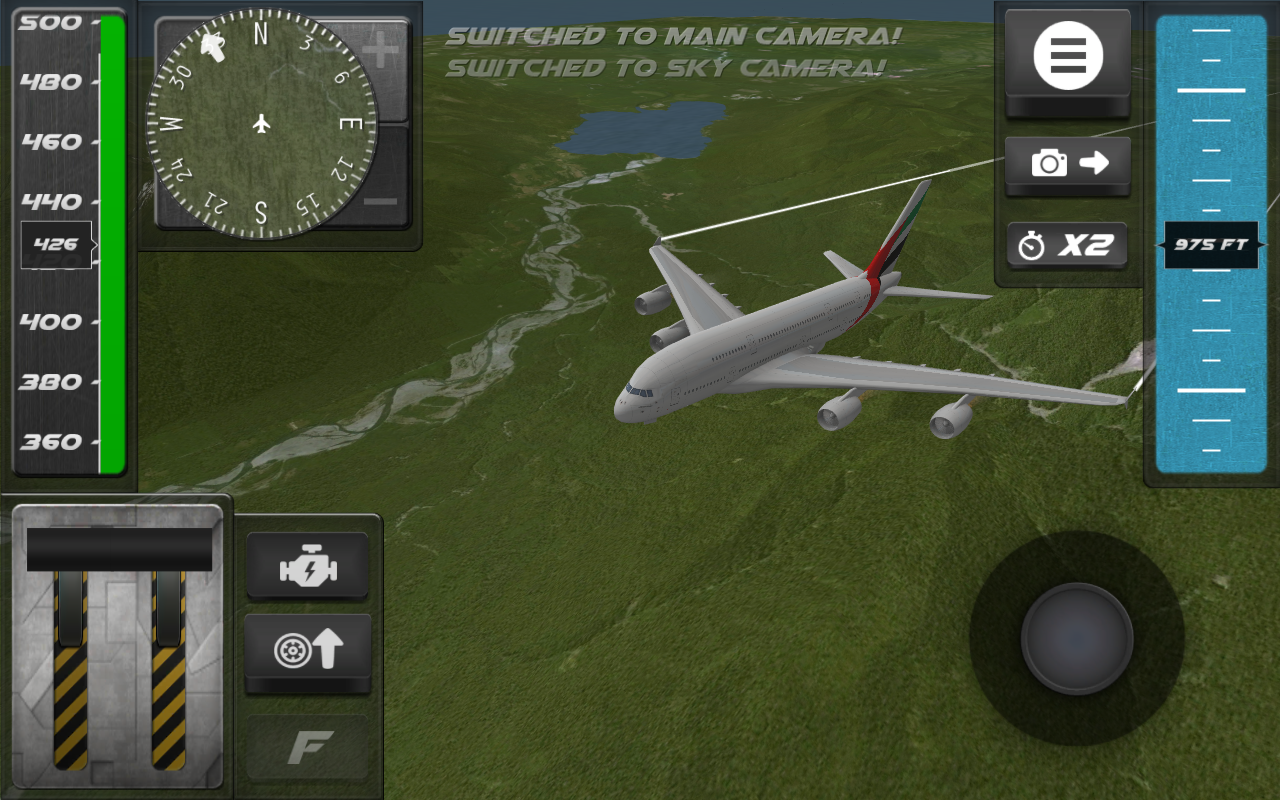 Air Plane Bus Pilot Simulator- screenshot