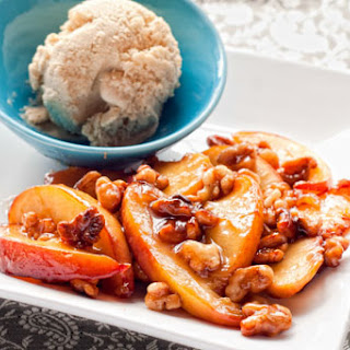 Honey-Coated Walnuts and Peaches