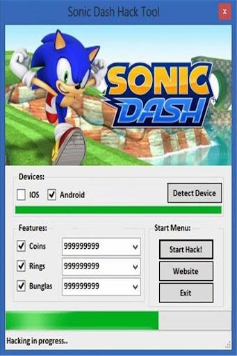 Gems Sonic Guide dash
