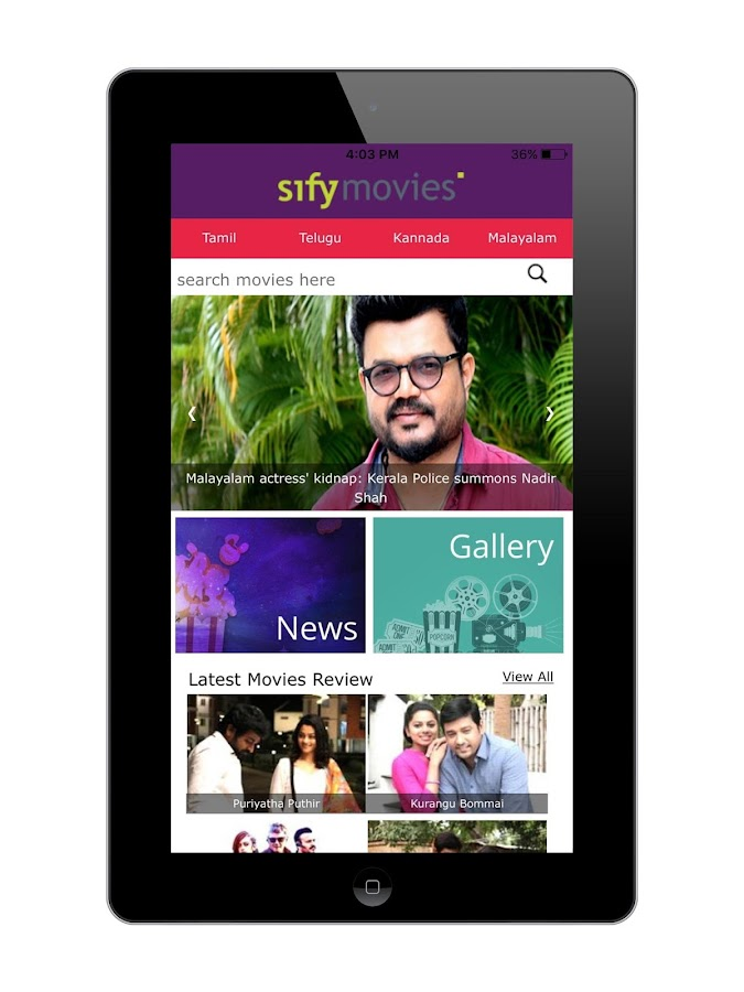 Sify Latest Movies Reviews & Updates- screenshot