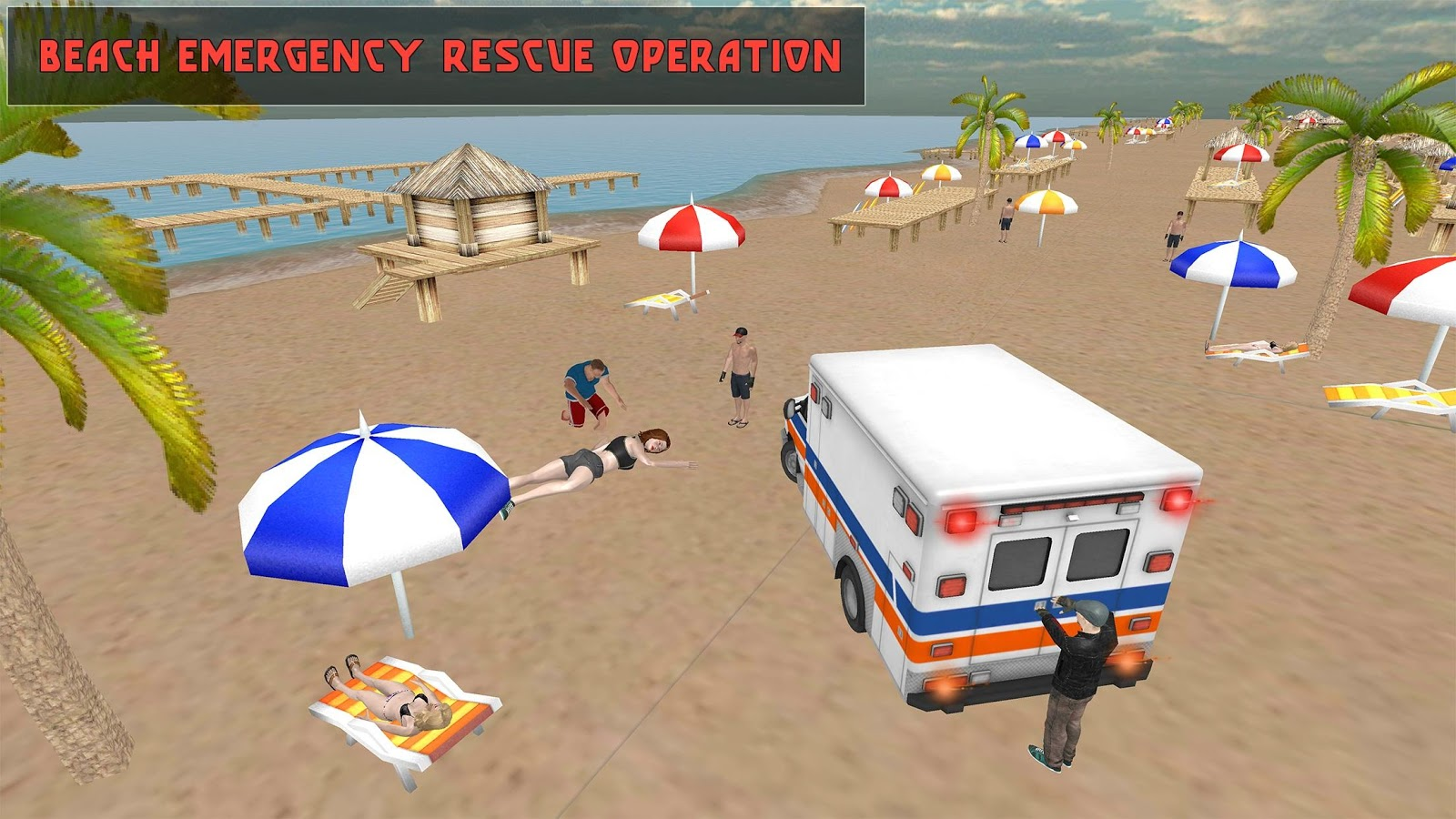 Coast Lifeguard Beach Rescue- screenshot