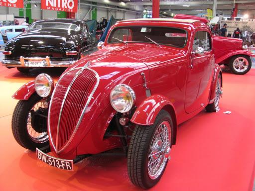La Topolino Fiat, version custom.