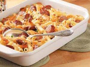 Fast & Easy Pasta & Sausage Recipe