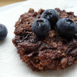 3 Minute Single Serving Blueberry Chocolate Cookie.