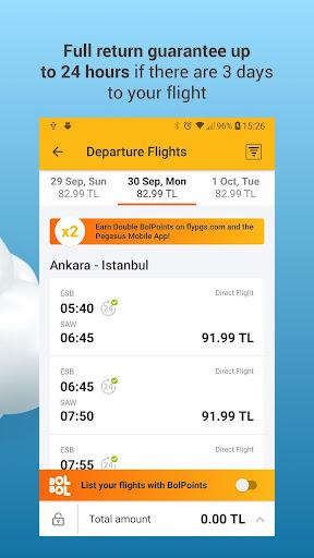 Pegasus Airlines screenshot 3