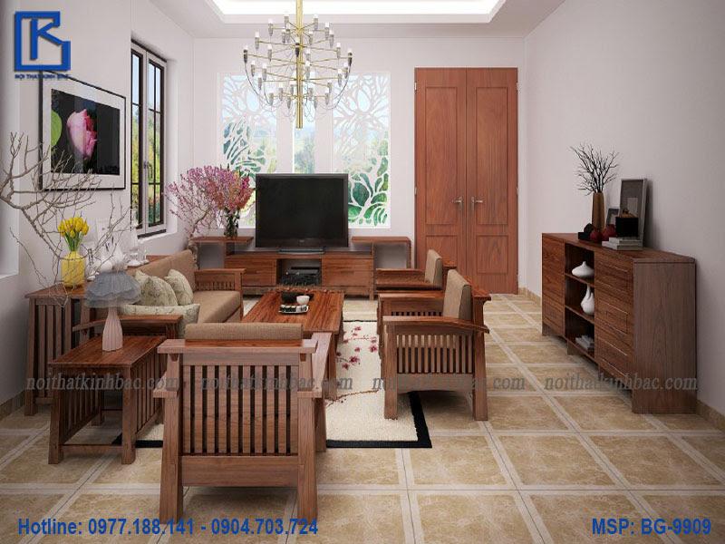 Bộ bàn ghế phòng khách hiện đại BG-9909