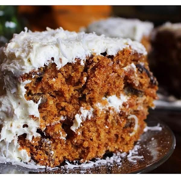 From Instagram: Baked A Homemade Carrot Cake For @cassmitchell123 50th Birthday
