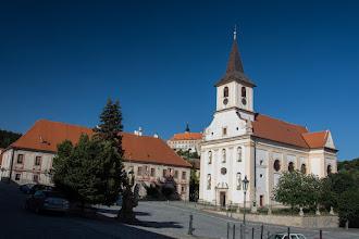 Photo: Barokowy kościół Jana Chrzciciela.