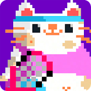 Candy Cat Tennis: lotta 8 bit