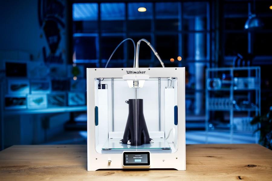The new Ultimaker S5 3D Printer!