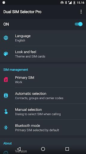 Dual SIM Selector PRO v2.7.1