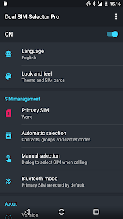 Dual SIM Selector Pro - náhled
