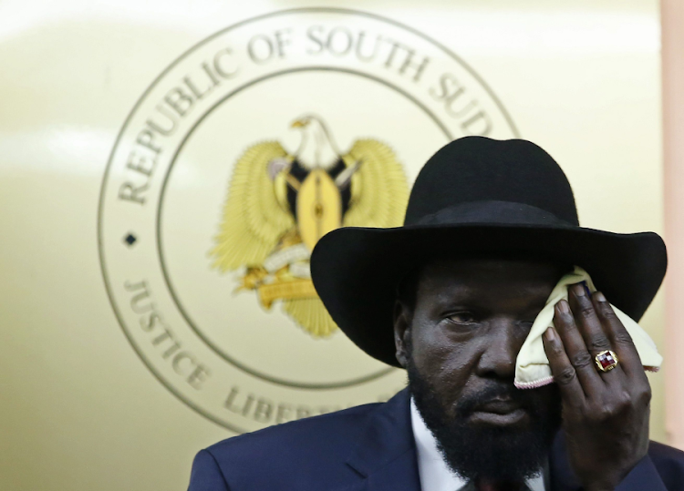 South Sudan's President Salva Kiir. Picture: REUTERS