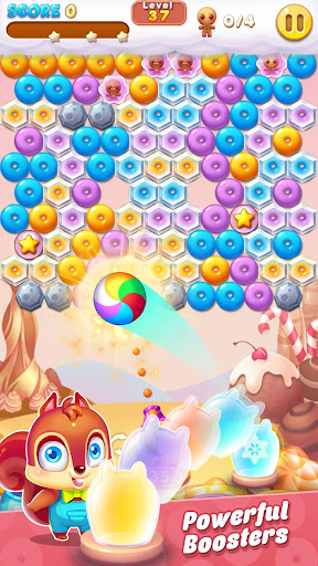 Bubble Shooter Cookie apkpoly screenshots 4