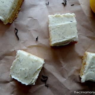 Lemon & Honey Shortbread Bars