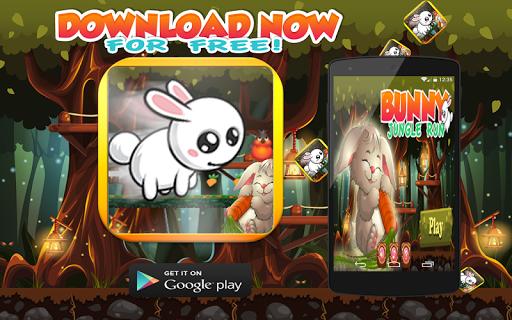 Crazy Rabbit Jungle Run