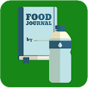 Food Diary and Water Drink Reminder for Health icon
