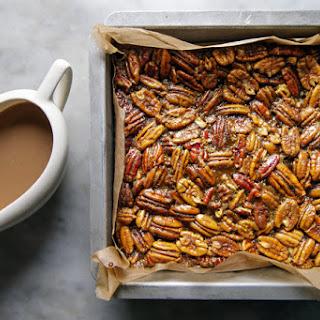 Pecan Pie Bites With Gravy