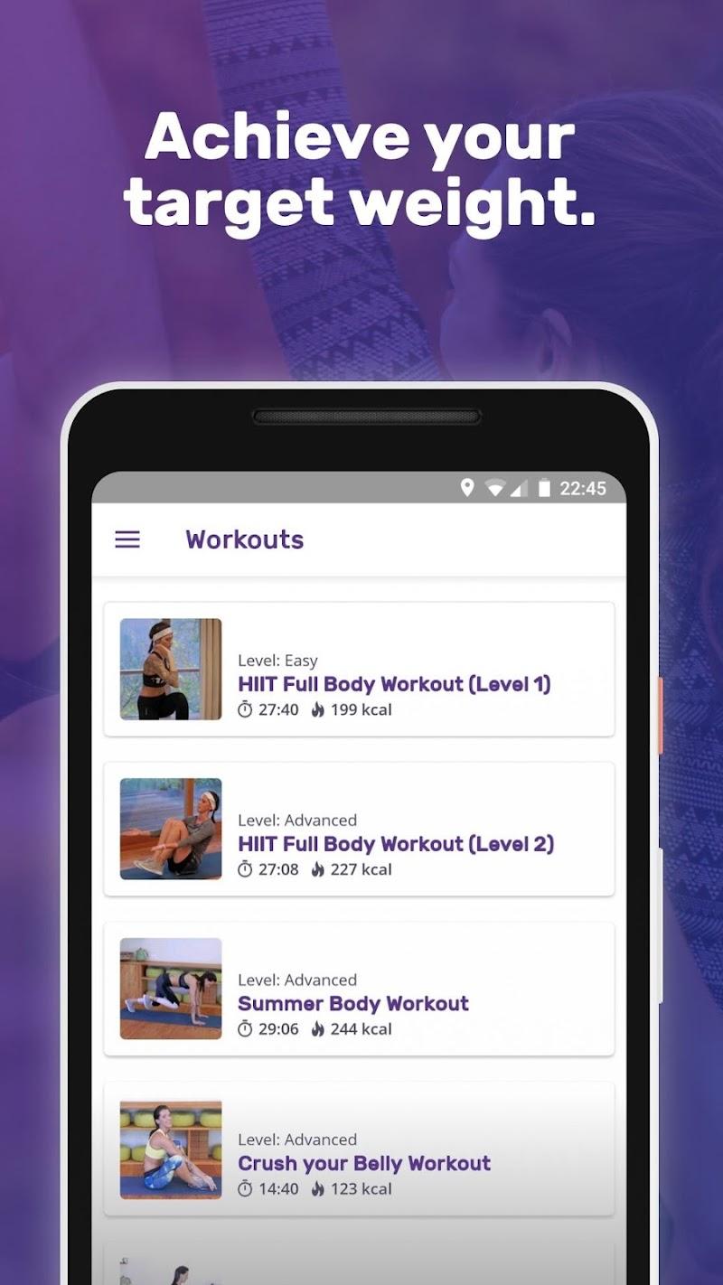 Running Weight Loss Walking Jogging Hiking FITAPP Screenshot 3