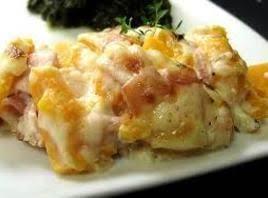 Crock Pot Ham and Potato Casserole