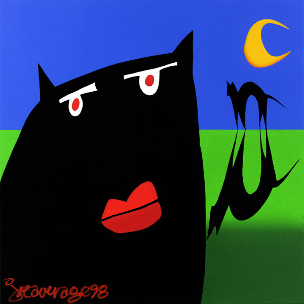<p> SCAREDY CAT</p>
