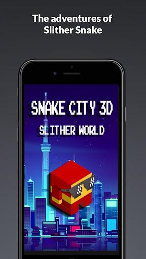 Slither Snake City 3D - Slither World 1.0 screenshots 2