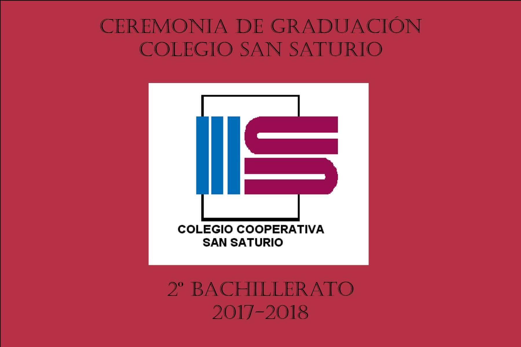 Graduación de Bachillerato 2018