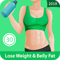 Lose Belly Fat & Weight In 30 Days Female Exercise icon