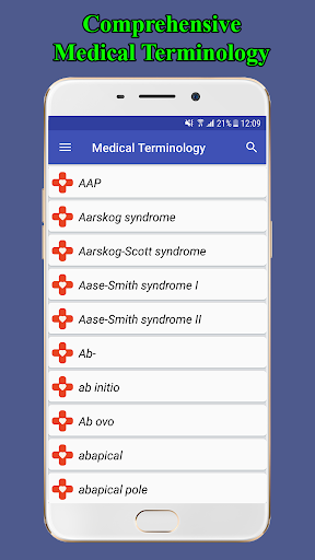 Medical Terminology Dictionary | Free & Offline screenshot for Android