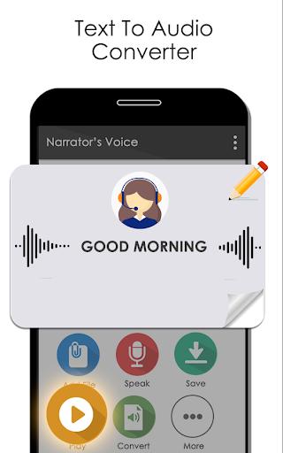 Narrator Voice Text To Speech