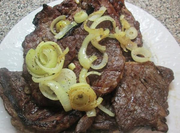 Garlic Crusted Grilled Steaks Recipe