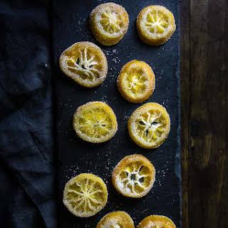 Candied Lemon Slices.