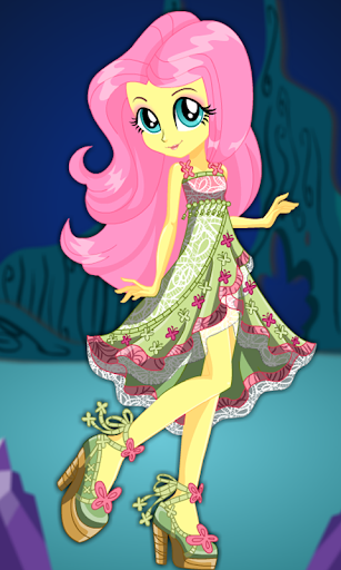 Dress Up Fluttershy 2