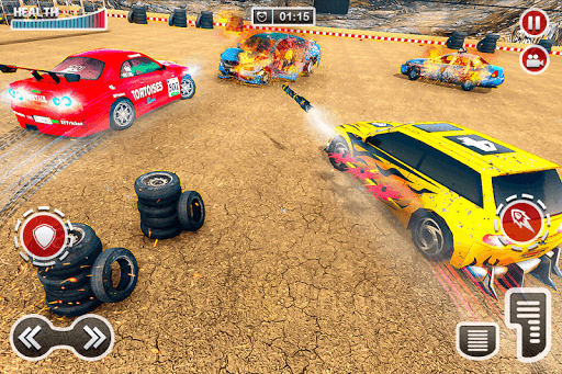 Demolition Car Derby Stunt 2020: New Car Game 2k20 apktram screenshots 14
