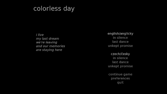 colorless day- screenshot thumbnail