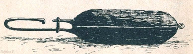 """Photo: Diskos - diszkosz, tok (Rofusz F. - ilustracja z książki Dobozi László """"Sütés főzés hegyen-völgyen vízparton"""") 2"""