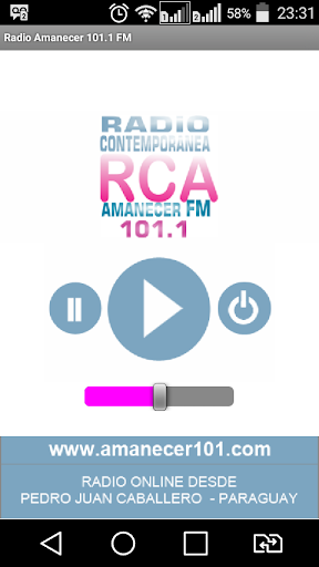 Radio Amanecer 101.1 FM 1.1 screenshots 2