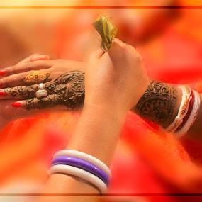 by Amritakshya Dey - Wedding Getting Ready