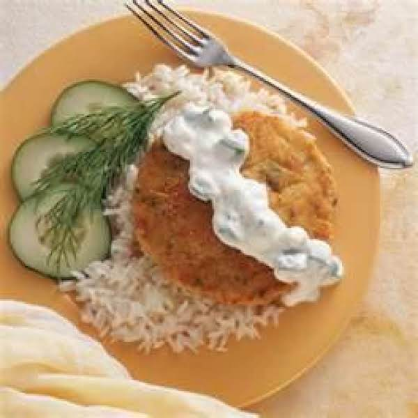 Salmon Cakes With Cucumber Sauce Recipe